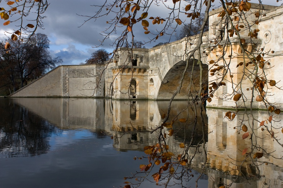 Blenheim Palace bridge